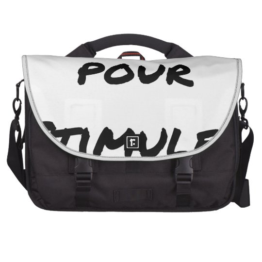 TO SIMULATE TO STIMULATE - Word games Commuter Bags