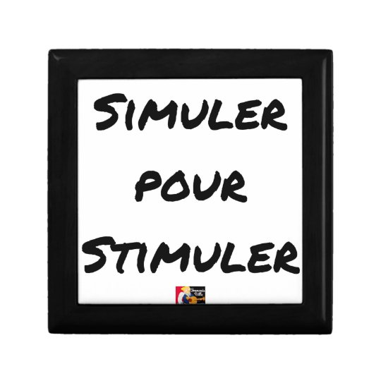 TO SIMULATE TO STIMULATE - Word games Gift Box