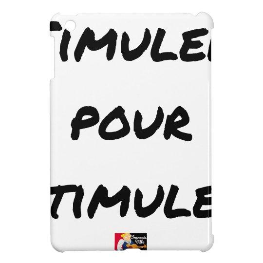 TO SIMULATE TO STIMULATE - Word games iPad Mini Case