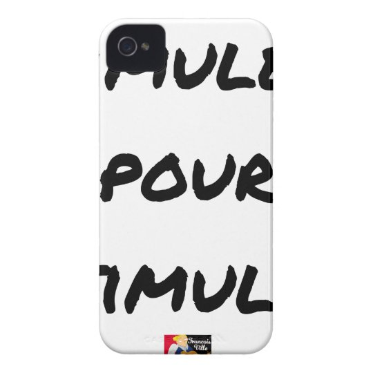 TO SIMULATE TO STIMULATE - Word games iPhone 4 Cases