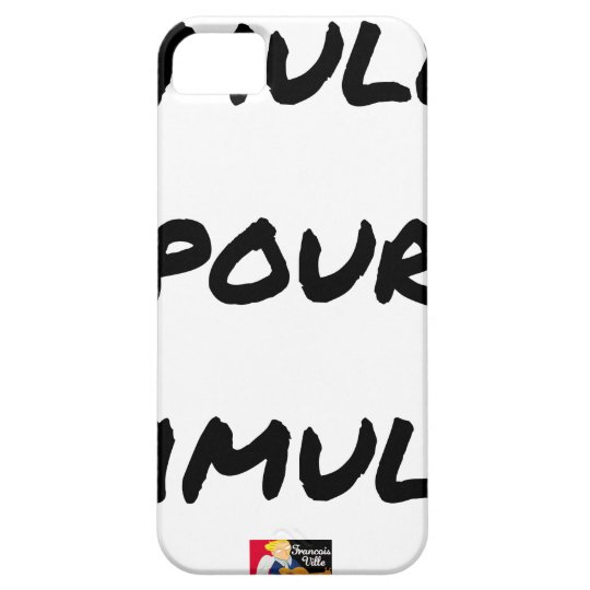 TO SIMULATE TO STIMULATE - Word games iPhone 5 Cover