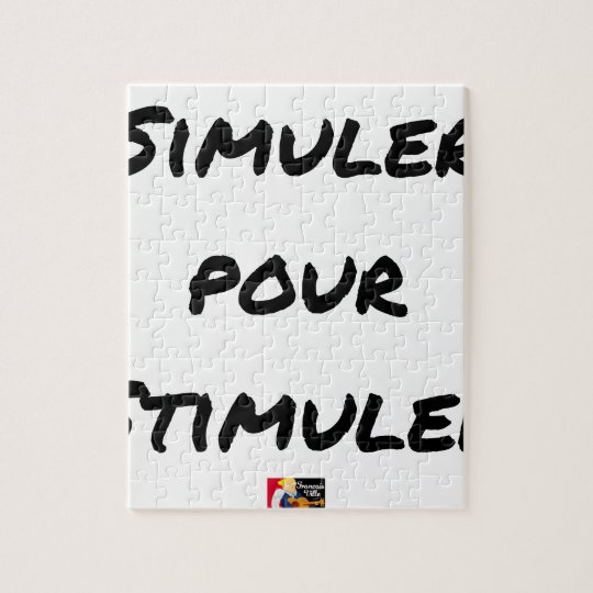 TO SIMULATE TO STIMULATE - Word games Jigsaw Puzzle