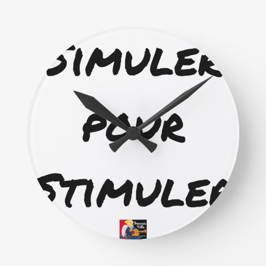 TO SIMULATE TO STIMULATE - Word games Round Clock