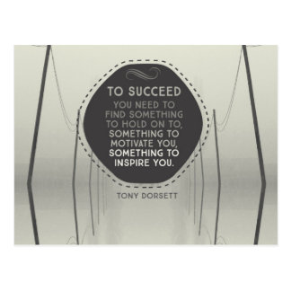 To Succeed Postcard