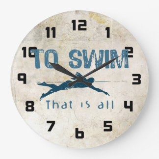To Swim Wallclock