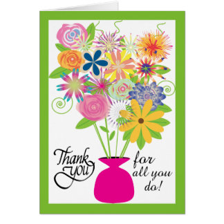 To Thank you on Administrative Professional's Day Greeting Card