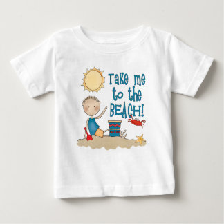 To the Beach (Boy) Baby T-Shirt