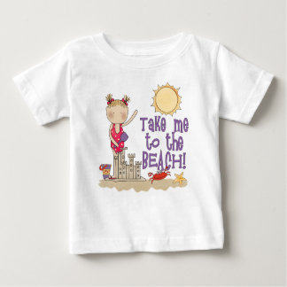 To the Beach (Girl) Baby T-Shirt
