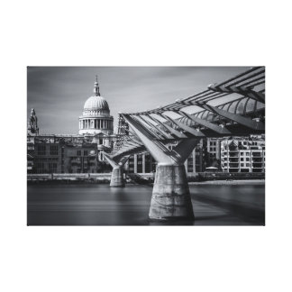 To The Cathedral Canvas Print