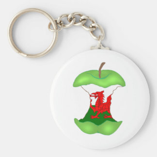 'to the core' Wales Keychain