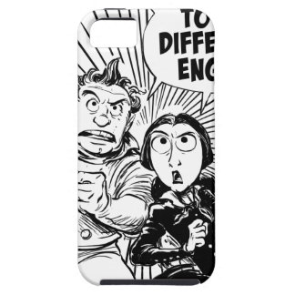 To The Difference Engine Panel iPhone 5 Cover