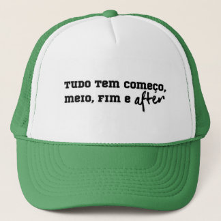 To the festeiros! trucker hat