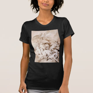 To the Genius of Franklin by Jean-Honore Fragonard T-Shirt