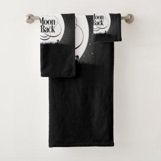 To The Moon And Back Bath Towel Set