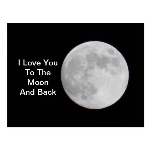 To the Moon and Back POSTCARD