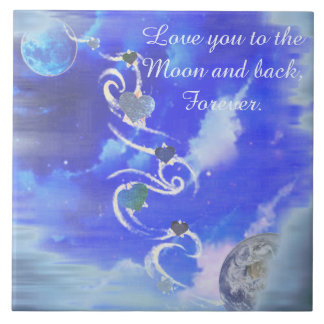 To The Moon and Back Tile