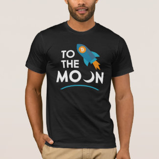 To The Moon Cryptocurrency T-Shirt