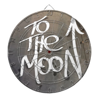 To the Moon Dartboard