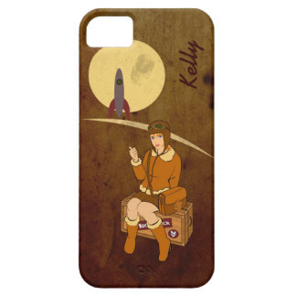 To the Moon iPhone 5 Case