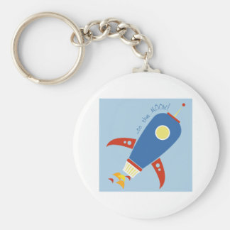 To The Moon Key Chain