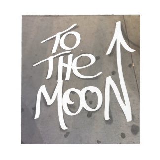 To the Moon Notepad