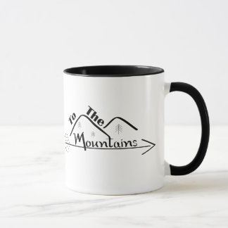 To the Mountains Mug
