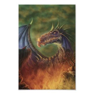 to the rescue! fantasy photo print