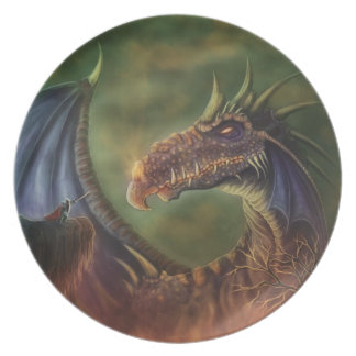 to the rescue! fantasy plate