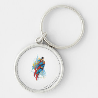 To the Rescue Silver-Colored Round Keychain