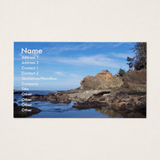 To the sea business card