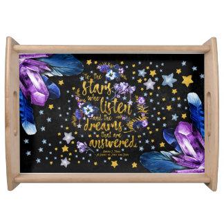 To The Stars tray
