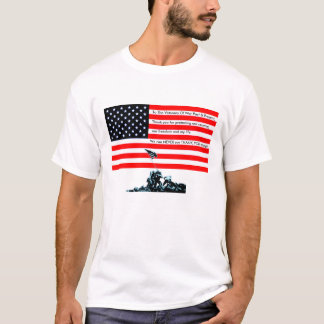 To The Veterans Of War T-Shirt