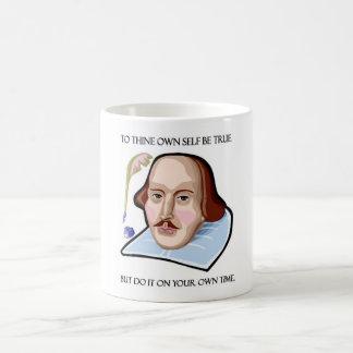 to-thine-own-self-be-true-but classic white coffee mug