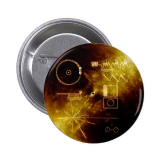 To travel Golden delicious Record 2 Inch Round Button