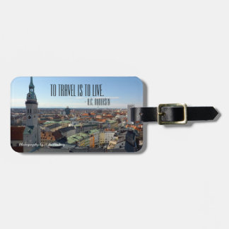 To Travel Luggage Tag