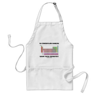 To Understand Cooking Know Your Chemistry Standard Apron