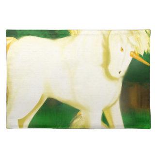 to war unicorn placemat