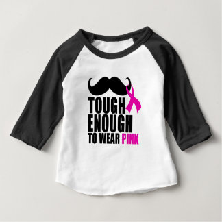 To wear Pink for cancer awareness Baby T-Shirt