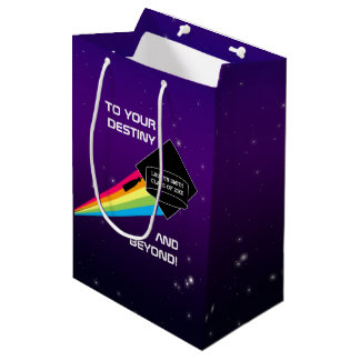 To Your Destiny Personalized Graduation Medium Gift Bag