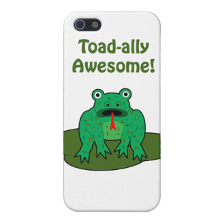 Toad-ally Awesome iPhone 5 Cover