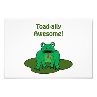 Toad-ally Awesome Art Photo