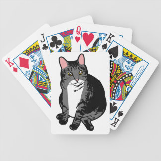 Toad Cat Bicycle Playing Cards