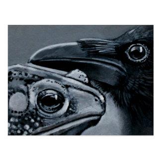 Toad & Crow Postcard