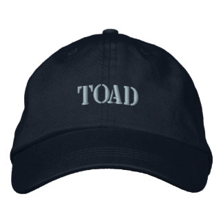 TOAD EMBROIDERED BASEBALL CAPS