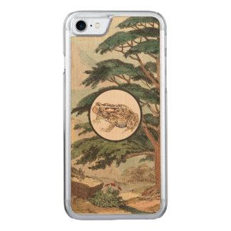 Toad In Natural Habitat Illustration Carved iPhone 7 Case