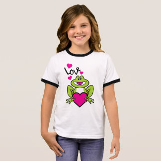 toad love ringer T-Shirt