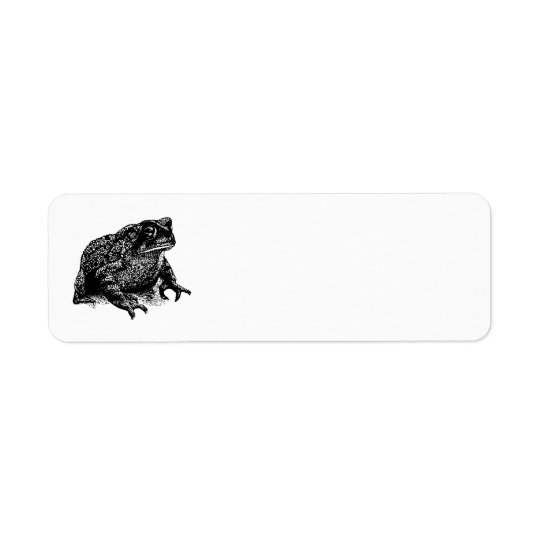 Toad Return Address Label