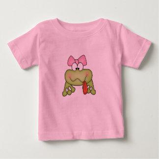 Toadally Cute Girl Frog Baby T-Shirt