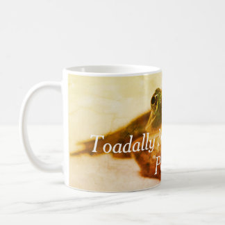 Toadally Not a Morning Person Fun Coffee Coffee Mug