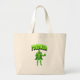 Toadman Large Tote Bag
